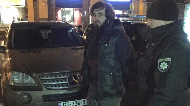 В Киеве взорвали машину Тимура Махаури - фото 1