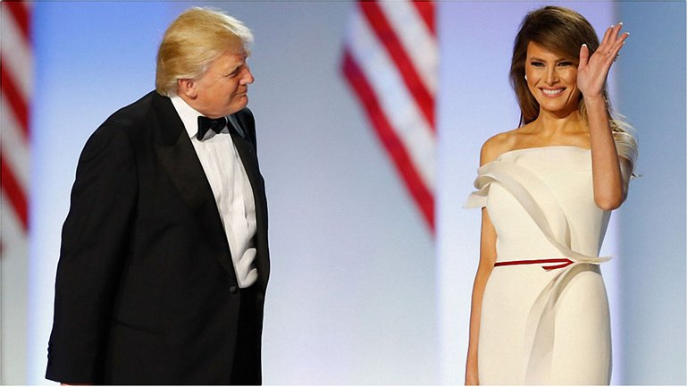 Мелания и Дональд Трамп - фото 1