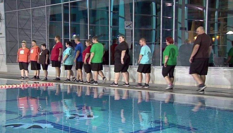 Зважені та щасливі 7 сезон 5 выпуск: пары разгадывали ребусы под водой - фото 1