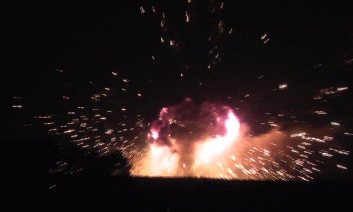 Взрыв на складах боеприпасов под Винницей - фото 1