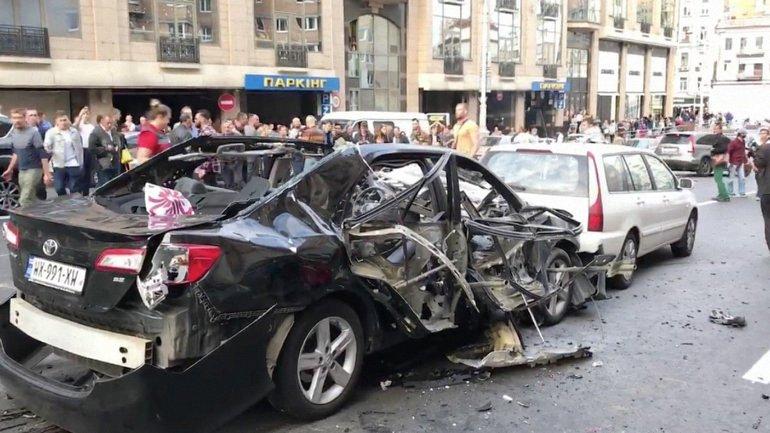 Правоохранители считают, что за взрывом авто стоят убийцы Павла Шеремета и Максима Шаповала - фото 1