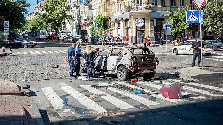 Полиция засекречивают информацию об убийстве Шеремета  - фото 1
