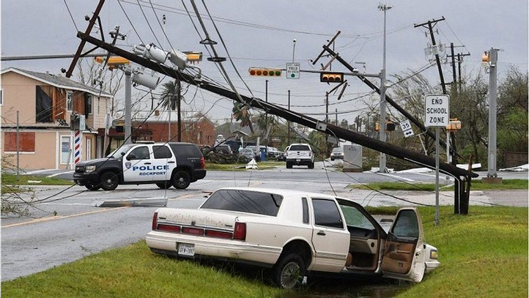 """""""Харви"""" стал самым мощным за последние 50 лет ураганом - фото 1"""