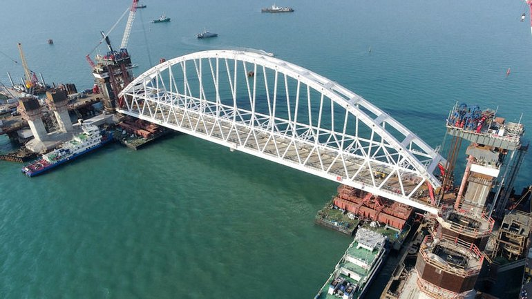 Керченский мост сейчас - фото 1