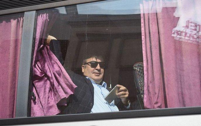 Саакашвили вернулся в Украину - фото 1