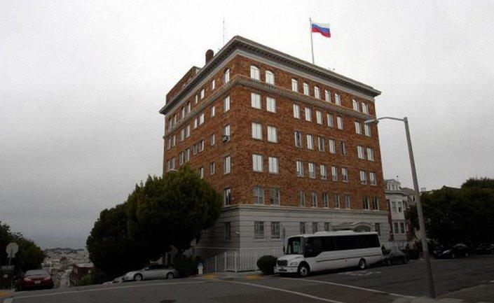 Российские дипломаты больше не будут обслуживать людей в консульстве в Сан-Франциско - фото 1
