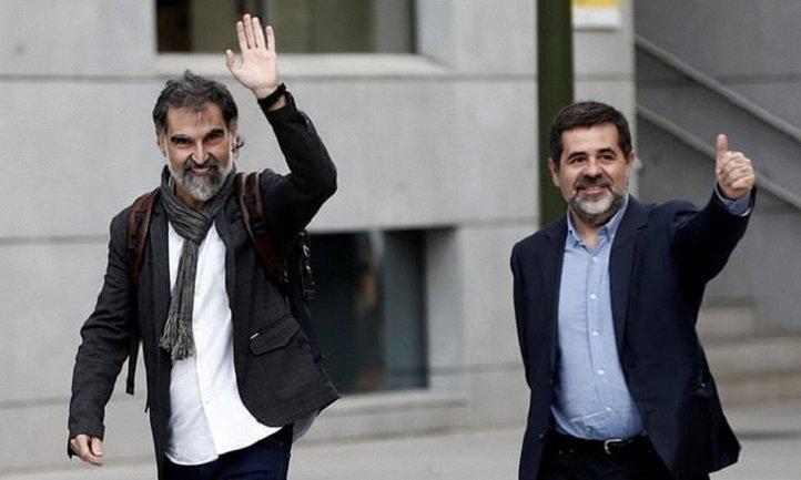 Суд арестовал Жорди Санчеза и Жорди Куишара - фото 1