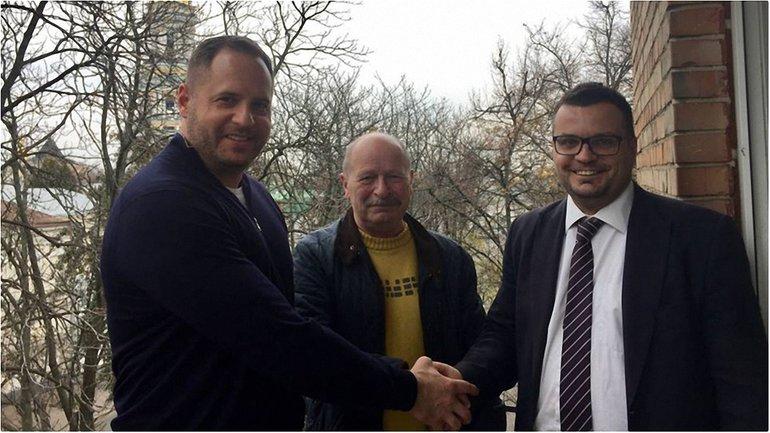 Андрей Ермак, Вячеслав Криштофович и Филипп Ильенко - фото 1