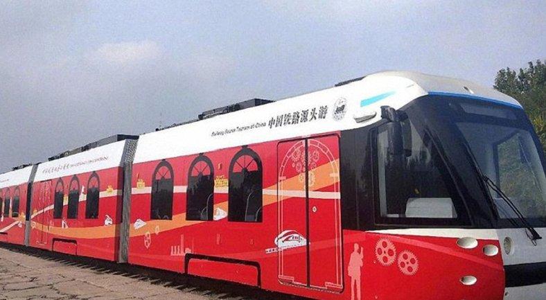 Водородный трамвай при движении не выделяет никаких загрязняющих веществ - фото 1