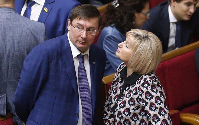 Юрий Луценко одобрил выходки свой жены-депутата - фото 1