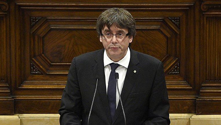 Пучдемон собирается выступить в Сенате Испании - фото 1