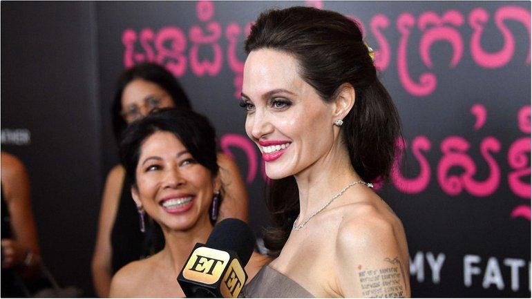 Анджелина Джоли вместе с украинкой сняли мультфильм для взрослых - фото 1