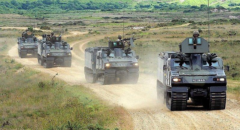 Проект механизации пехотной бригады: Латвия получила бронетехнику - фото 1
