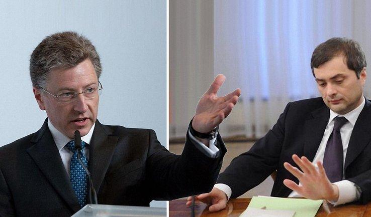 Названа дата встречи Суркова и Волкера - фото 1