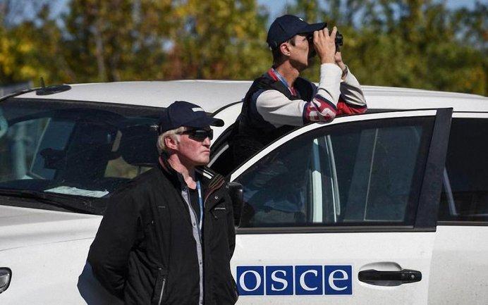 Наблюдатели ОБСЕ не могут попасть в пгт Седовое - фото 1