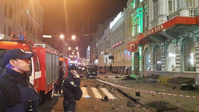 Место аварии в Харькове - фото 1