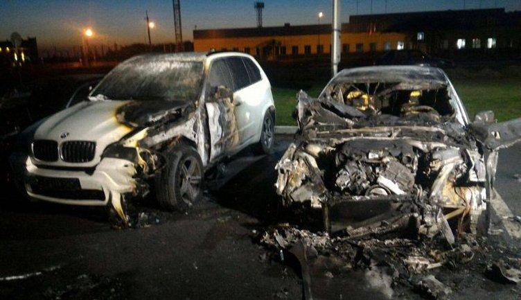 Машину экс-прокурора Харьковской области сожгли неизвестные - фото 1