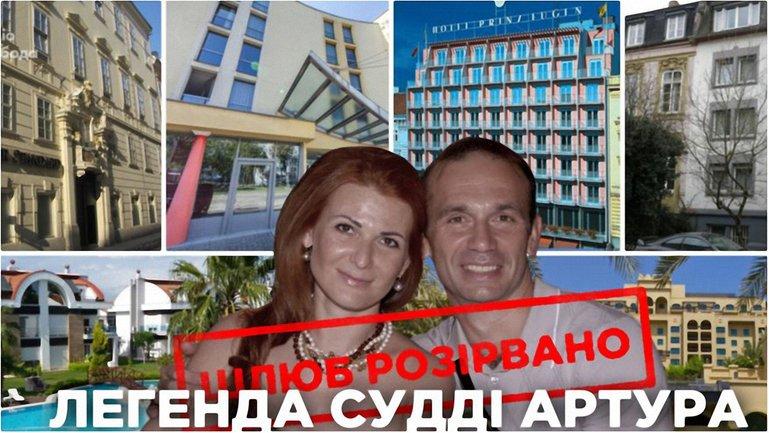 Суддя Ємельянов із ніби екс-дружиною, яка володіє готелями в Європі і не тільки - фото 1