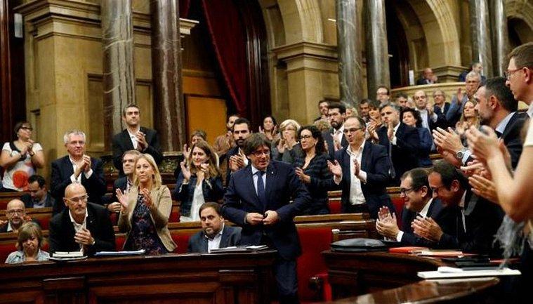Парламент Каталонии провел тайное голосование о независимости - фото 1