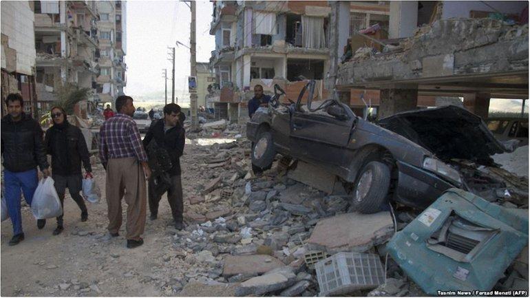 В Иране и Ираке мощное землетрясение - фото 1