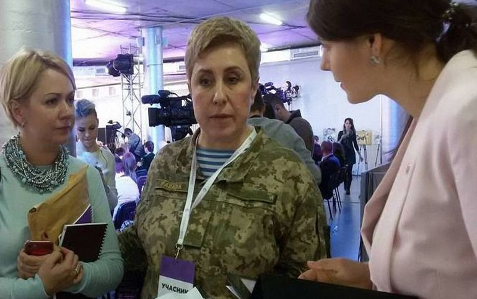 Валерия Парада получила звание полковника - фото 1