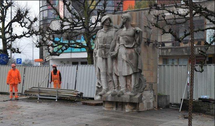 Памятник благодарности советской армии в Щецине - фото 1