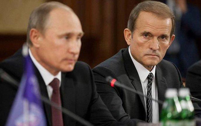 Медведчук помогает Путину делать вид, что Россия не является стороной конфликта - фото 1