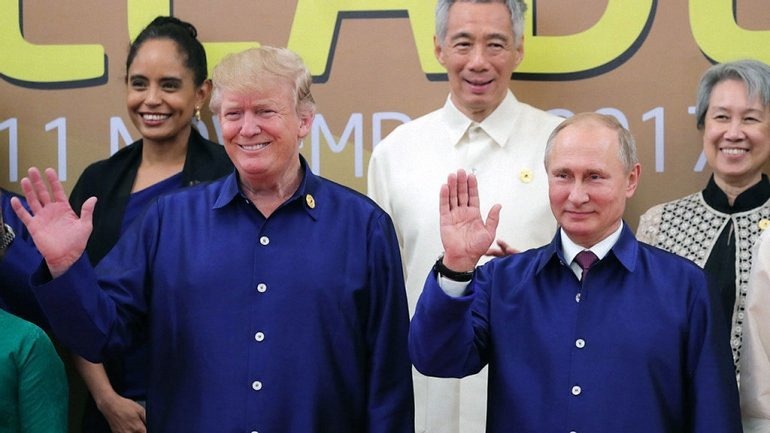 Дональд Трамп и Владимир Путин  - фото 1