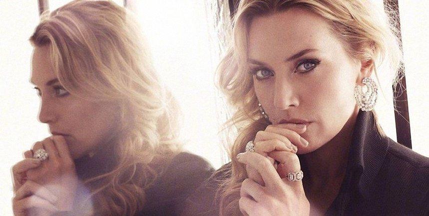 Кейт Уинслет в фотосессии для Harper's Bazaar - фото 1