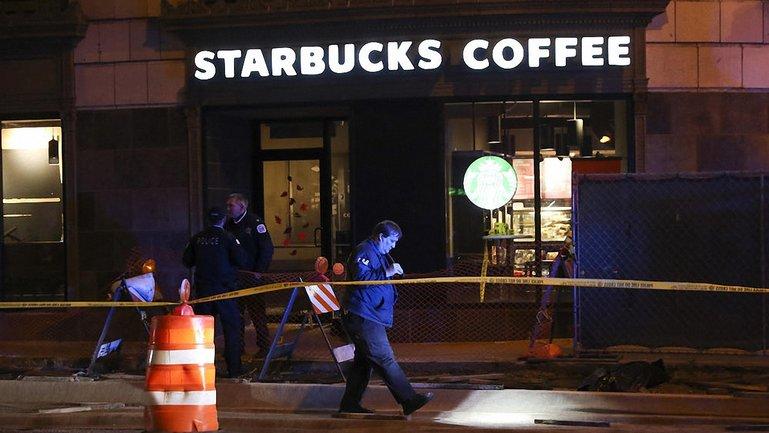 Стрельба в Starbucks Чикаго: есть убитые - фото 1