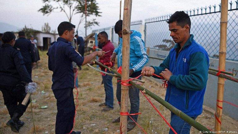 Непальская полиция проверяет избирательные участки  - фото 1