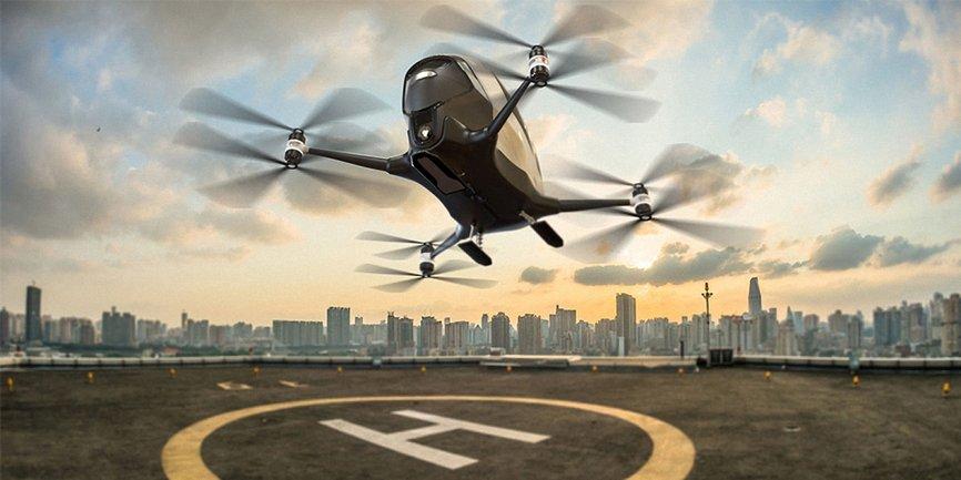 Uber и NASA создадут летающие такси - фото 1