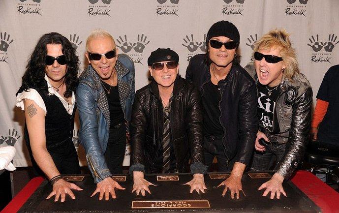 Scorpions выступили в Киеве - фото 1