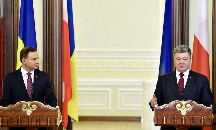 Петр Порошенко ответил Анджею Дуде  - фото 1