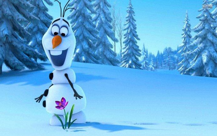 """Снеговик Олаф, Эльза и Анна вернутся в мультфильме """"Олаф и холодное приключение"""" - фото 1"""