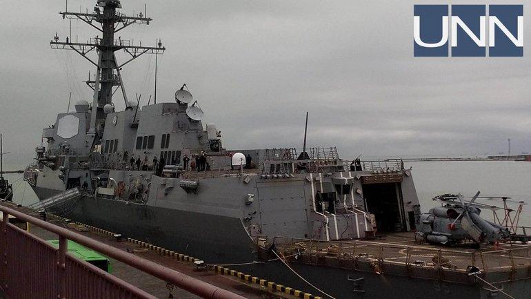 В Одессу прибыл американский эсминец - фото 1