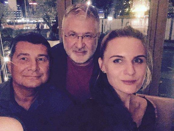 Онищенко в компании Коломойского и журналистки Крюковой - фото 1