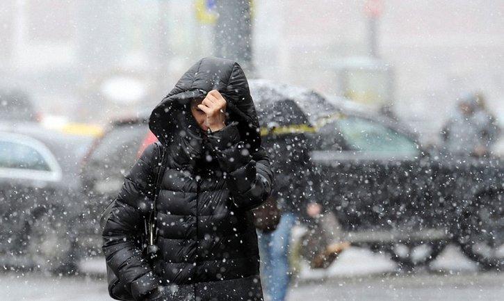 Мокрый снег пройдет в трех областях Украины - фото 1