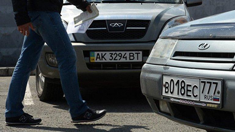 Крымчане, которые не поменяют украинские номера на российские, будут оштрафованы - фото 1