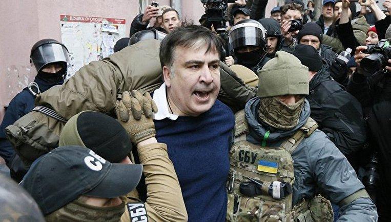 Саакашвили задержали и везут на допрос - фото 1