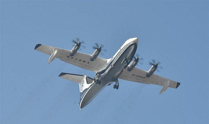 Армия КНР планирует использовать самый крупный самолет с целью патрулирования - фото 1