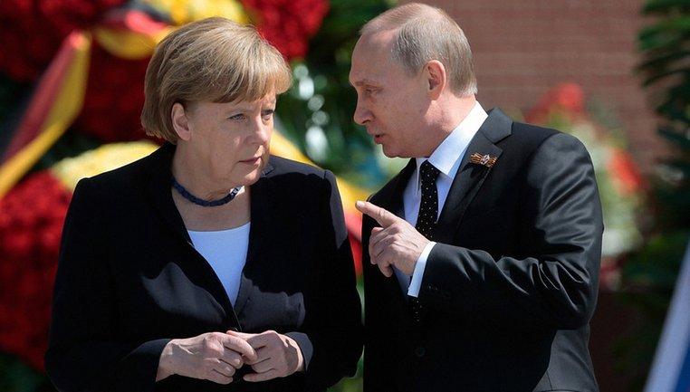 Меркель и Путин договорились возвращать россиян в СЦКК - фото 1