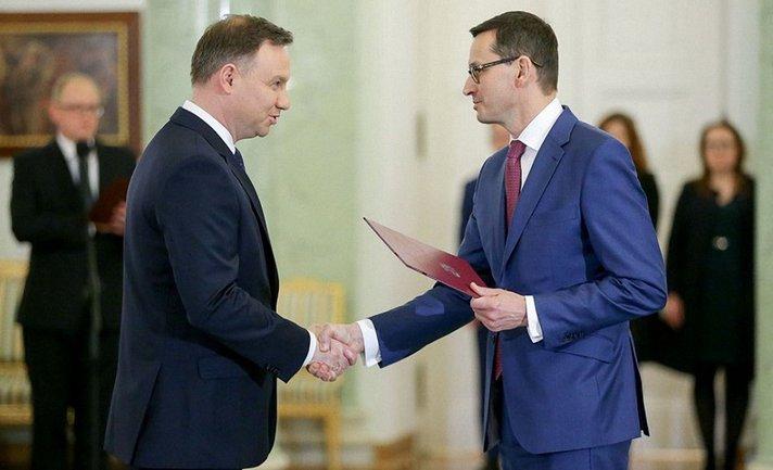 Анджей Дудуа назначил Матеуша Моравецкого премьер-министром - фото 1