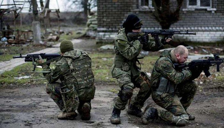 ДРГ террористов сбежала с поля боя - фото 1