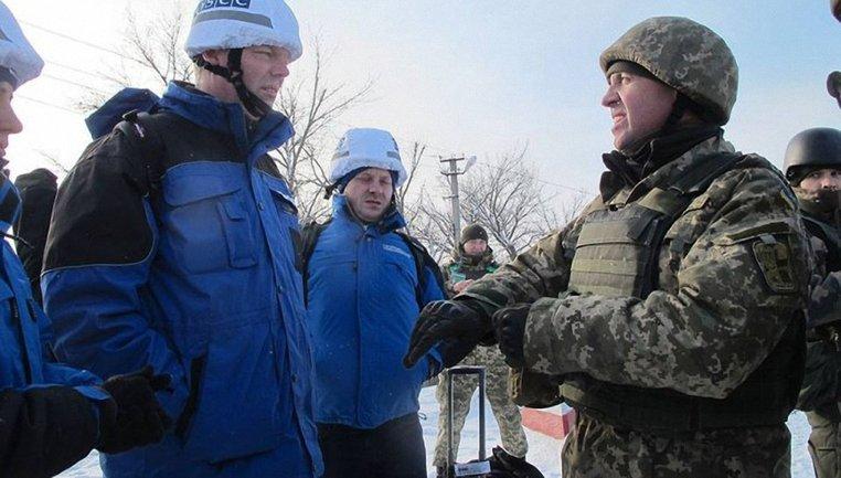 Украинские наблюдатели покинут оккупированные территории - фото 1