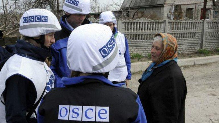 Наблюдателям ОБСЕ запретили общаться с жителями Горловки - фото 1