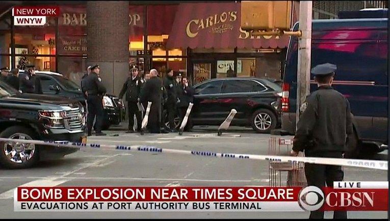 В Нью-Йорке прогремел взрыв - фото 1