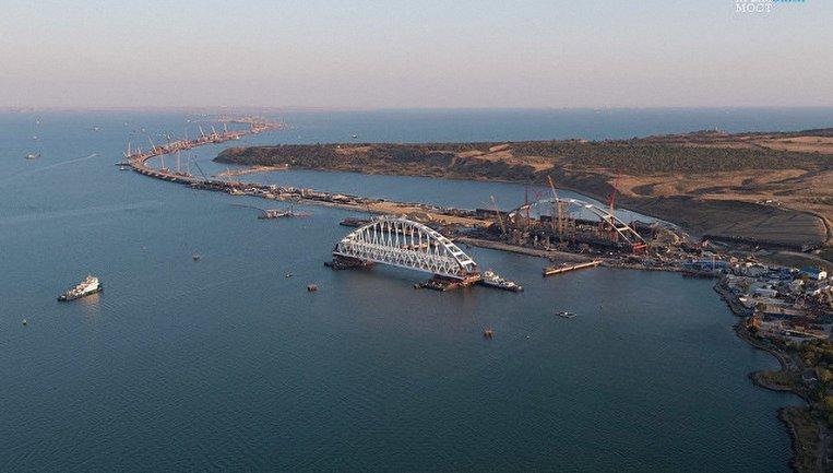 Голосование за название для моста в оккупированный Крым проводилось с 16 ноября - фото 1