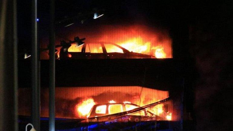 Во время пожара в Ливерпуле никто не пострадал - фото 1