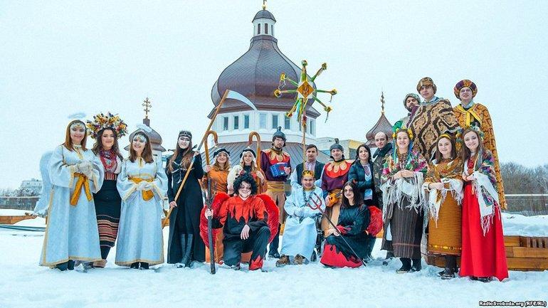 Вертеп студентов Украинского католического университета - фото 1